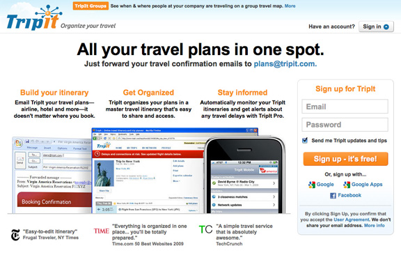 tripit the online travel itinerary and trip planner nuvonium