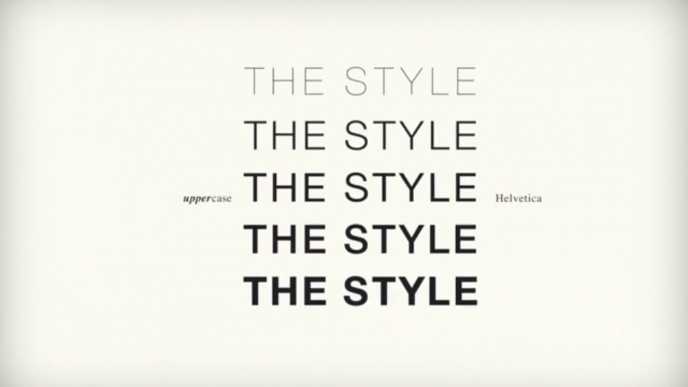 The Newest Old Thing on the Web: Kinetic Typography