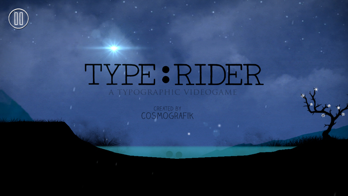 Type:Rider,  A Game for Typography Lovers and More