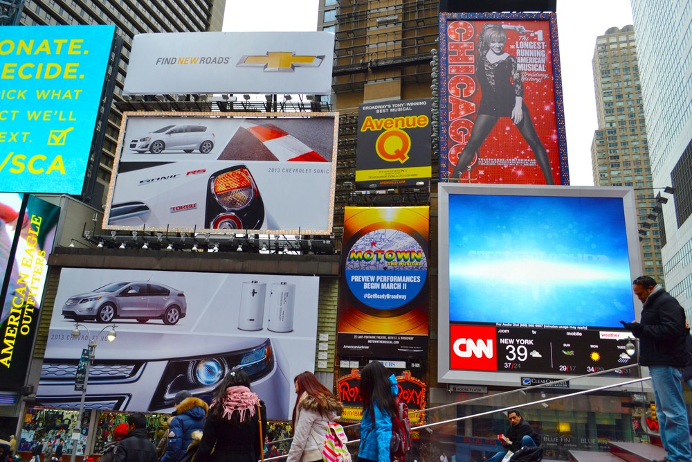 Are we too cluttered with advertising?