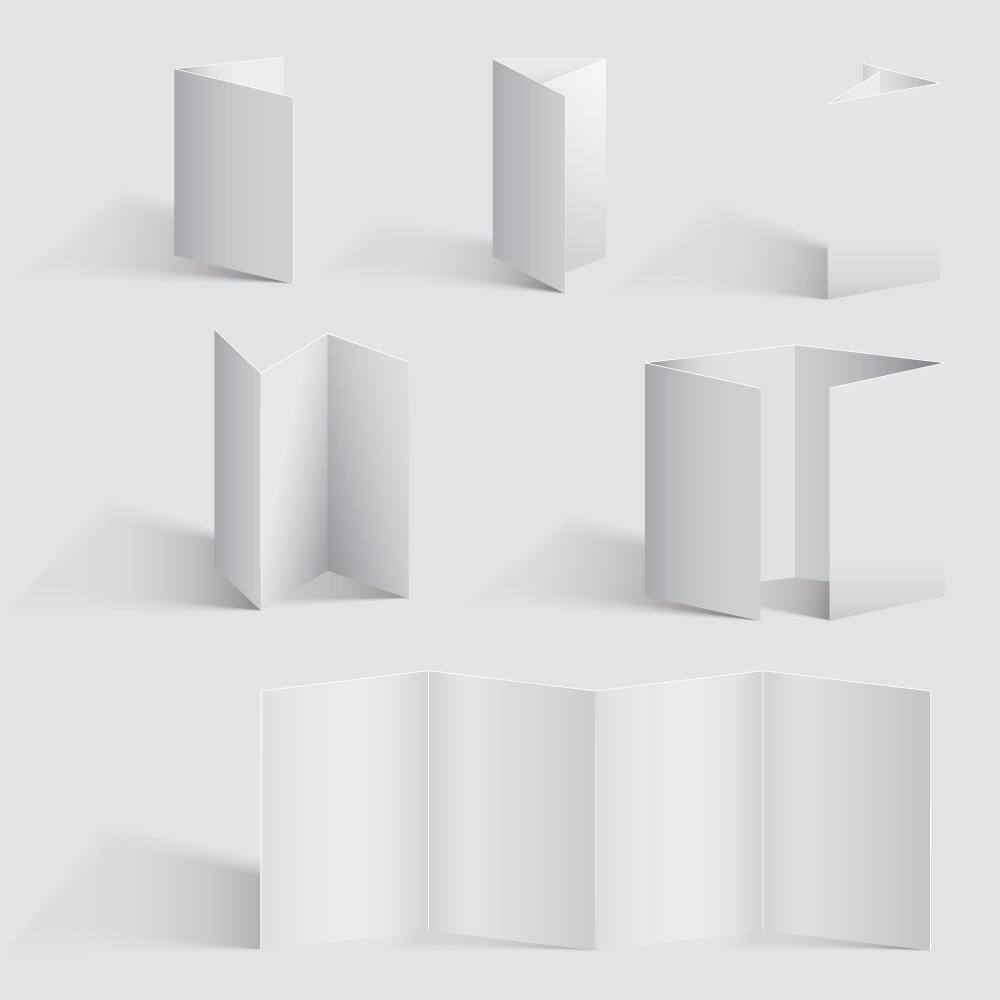 brochure fold