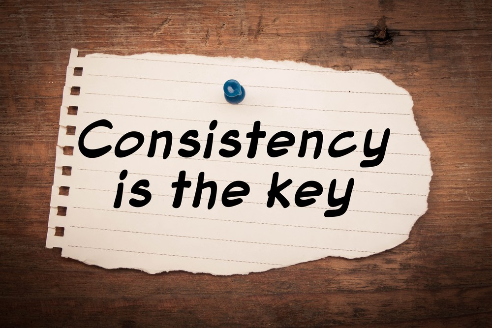 Consistency is a relevant concept in marketing.
