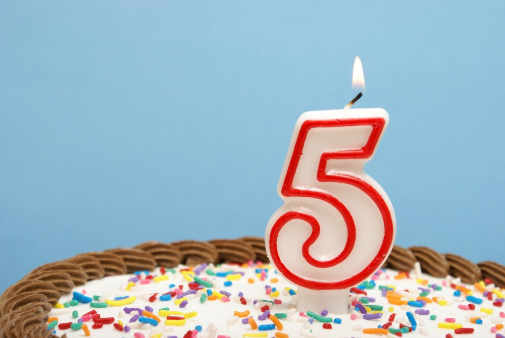 Happy 5 Year Blog-O-Versary Nuvonium