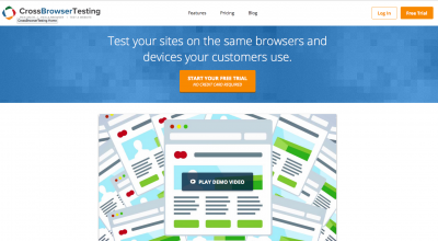 Cross browser testing made simple