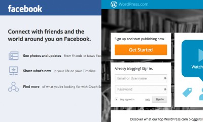 Are we heading for an all Facebook & Wordpress world?