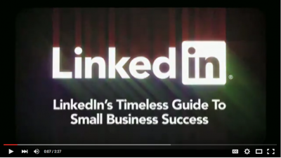 Tips to make your small business successful - courtesy of LinkedIn