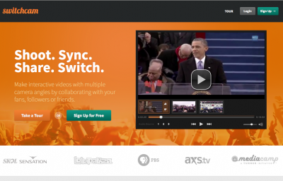 SwitchCam.com - event videos assembled by crowdsourced footage