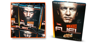 New product and attractive new packaging for Wheaties Fuel cereal