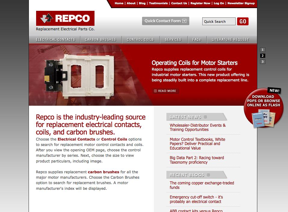 Repco Website | Nuvonium