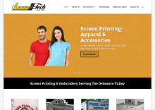 Screentechink-home-page