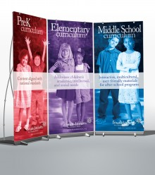 Foundations Curriculum Banner Display