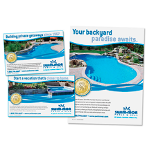 Swim-Mor Pools Ad Series
